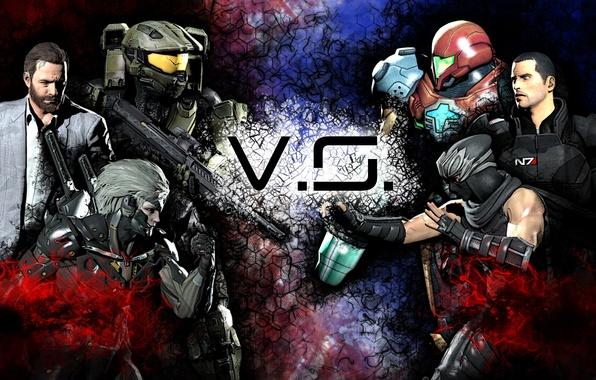 Picture helmet, Halo, armor, Ninja Gaiden, Mass Effect, Raiden, Metal Gear Rising: Revengeance, Shepard, Jack, Ryu …