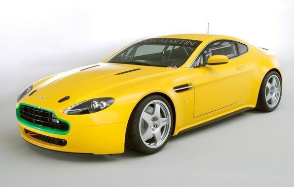 Picture Aston Martin, Machine, Yellow, Aston Martin