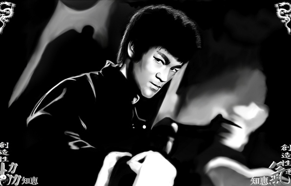 Picture memory, master, male, legend, Bruce Lee, bruce lee, martial arts, kung fu