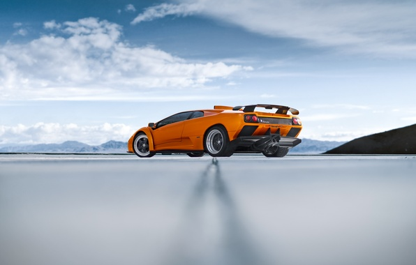 Picture Lamborghini, Orange, Houston, Diablo, Texas, Supercar, Luxury, Exotic, Modlife