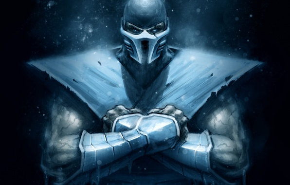 Picture mortal kombat, ninja, Sub-Zero