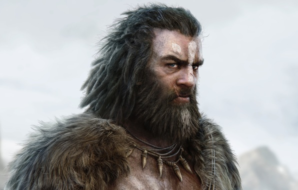 Picture look, male, beard, Far Cry Primal, UbiSoft