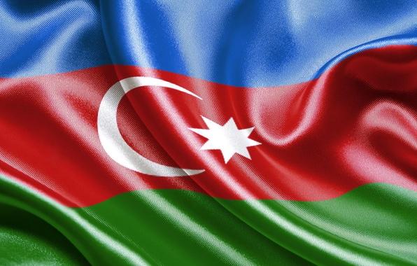 Picture Flag, Azerbaijan, Azerbaijan