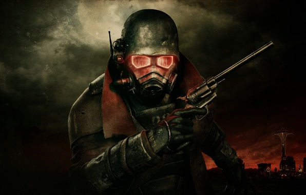 Picture radiation, mask, fallout3, new vegas, Magnum