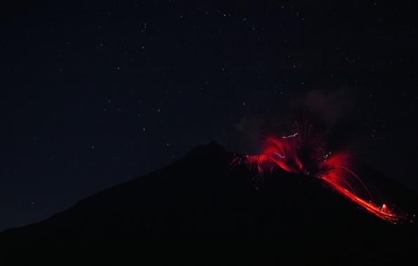 Picture fire, element, the volcano, the eruption, lava, Sakurajima