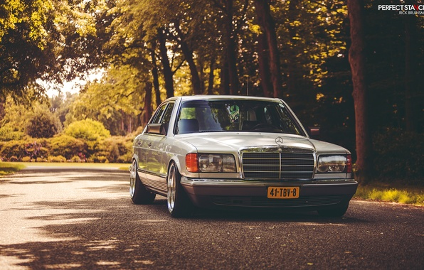 Picture Mercedes-Benz, stance, w126