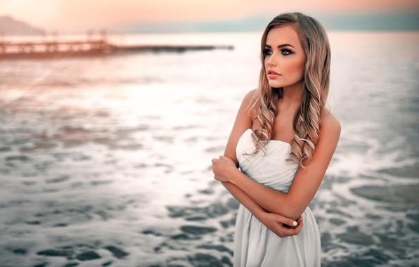 Picture sea, the beauty, Mary Jane, Ivan Gorokhov