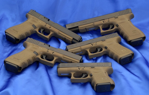 Picture Blue, Wallpaper, Background, Weapons, Glock, Glock, Wallpapers, Guns, Weapons, 34OD, 34ОД, 17OD, 19OD, 26ОД, 17LOD, …