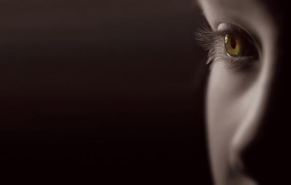 Picture face, eyes, eyelashes