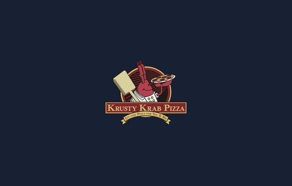 Picture background, pizza, pizza, SpongeBob SquarePants, Mr.Krabs