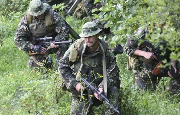 Picture Soldiers, grenade launcher, special forces, AK-74, intelligence, VSS Vintorez, Zelenka