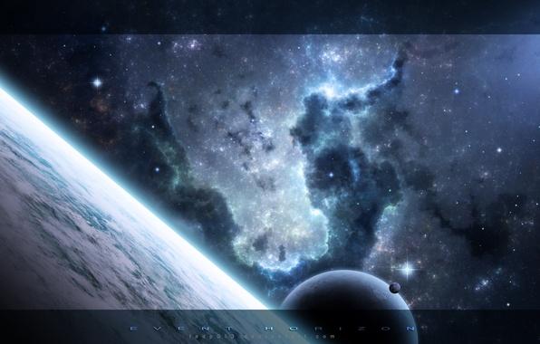 Picture space, stars, nebula, planet, space, universe, nebula, 1920x1200, stars