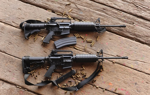 Picture Board, sleeve, machines, m4a1, assault rifles, M4A1