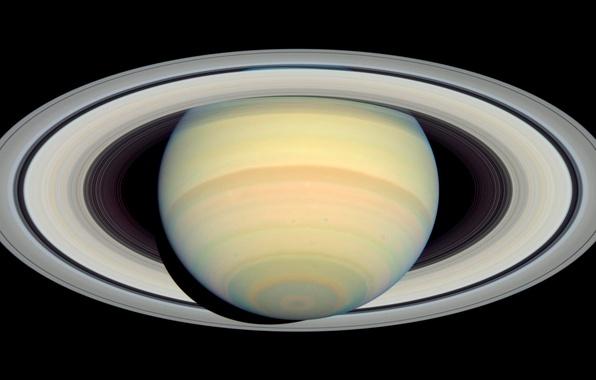 Picture photo, planet, Saturn, orbit, Saturn, NASA, Cassini, Cassini