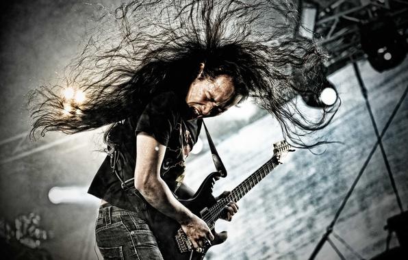 Picture metal, music, guitar, guitarist, rock, electric guitar, Dragonforce, Herman Li