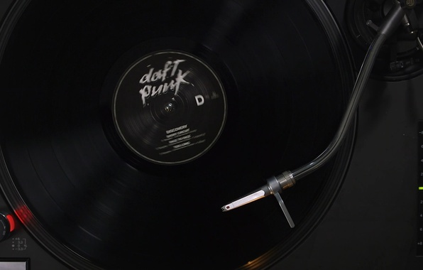 Photo Wallpaper Music Vinyl Record Daft Punk Discovery