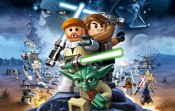 Picture Star Wars, Star wars, LEGO, LEGO, the clone wars