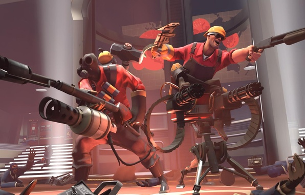 Picture tf2, engineer, pyro., Team fortes2, pyro