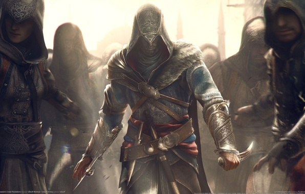 Picture master, knife, blade, assassin's creed, Ezio, revelations, auditor