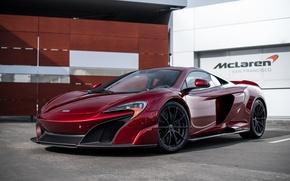 Picture McLaren, red, san francisco, 675LT