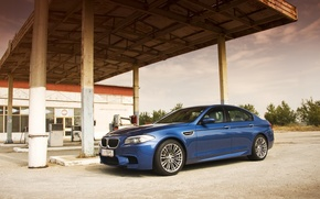 Picture BMW, dressing, BMW, blue, blue, F10
