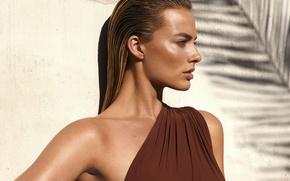 Wallpaper model, actress, photoshoot, Vogue, Margot Robbie, Margot Robbie, Marcus Piggott, Mert Alas