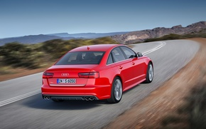Picture Audi, Red, 2014
