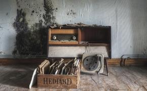 Picture vinyl, records, Radiola