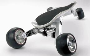 Wallpaper BMW, Skateboard, StreetCarver