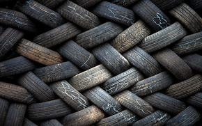 Picture background, texture, tires