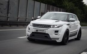 Picture auto, tuning, Land Rover, Range Rover, front view, Evoque, Prior-Design, PD650