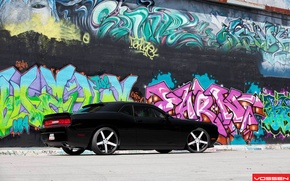 Picture graffiti, Dodge, muscle
