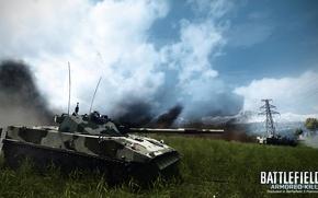 Picture field, tank, Battlefield 3, Armored Kill