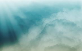 Wallpaper color, Clouds, minimalism