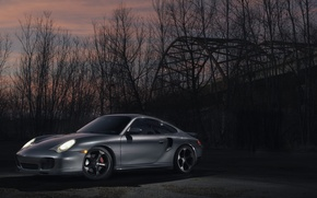 Picture 911, Porsche, Turbo, 996, sidefront