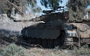 "Picture shelter, tank, combat, main, Merkava, Israel, ""Merkava"""