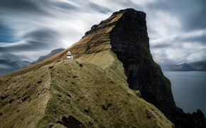 Picture mountains, lighthouse, mountain, North