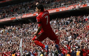 Picture football, victory, goal, england, Liverpool, football, soccer, liverpool, Suarez, fans, suarez 2012
