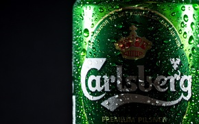 Picture drops, beer, Bank, brand, beer, carlsberg