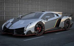 Picture machine, supercar, Lamborghini Veneno