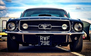 Wallpaper muscle car, pony car, Oldtimer, 1968, Mustang, power, Mustang, American