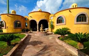 Picture design, house, style, Villa, architecture, Punta, Riviera Maya, exterior, Island Women