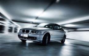 Picture machine, BMW, effects