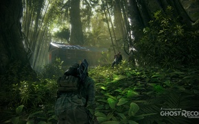 Picture house, jungle, soldiers, ghost recon wildlands