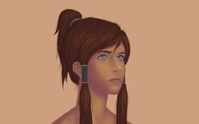 Picture girl, art, The Legend of Korra, The legend of Korra