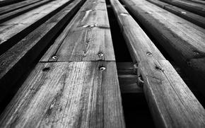 Picture wood, screws, planks