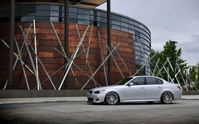 Picture the building, tuning, bmw, sedan, 5 series, five, BMW