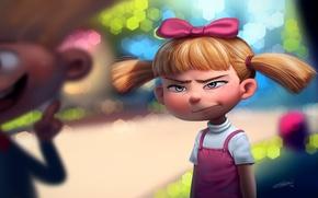 Picture art, girl, Helga Pataki, DFer32, Hey Arnold