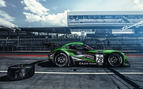 Picture sport, BMW, track, GT3, BMW Z4, pit stop