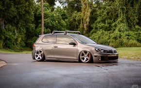 Picture turbo, golf, tuning, GTI, VolksWagen, LOW